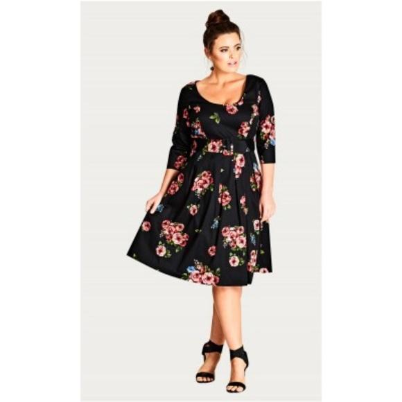Vintage Dresses & Skirts - Vintage Rose Dress